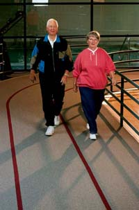 ©2007 Publications International, Ltd. Does IBS have you down and out? Try exercising moderately.