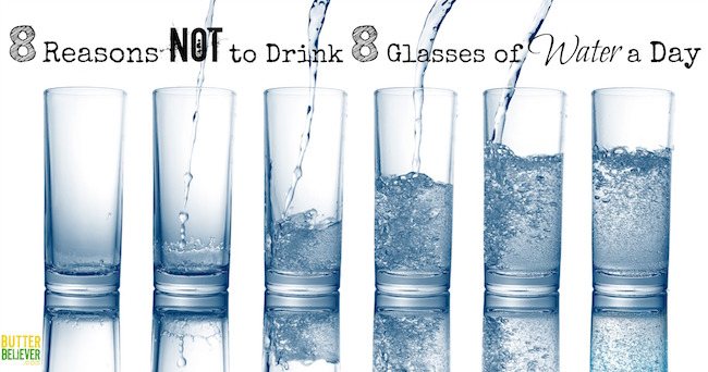Ongoing Health Disaster: Drinking 8 Glasses Of Water Per ...
